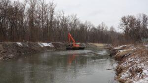 очистка рек проток и каналов