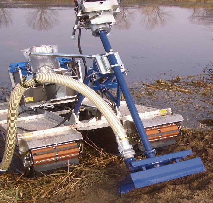 Очистка прудов